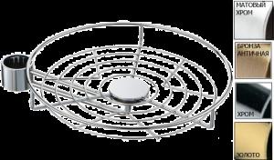 Полка сетка с боковым креплением на Барную трубу