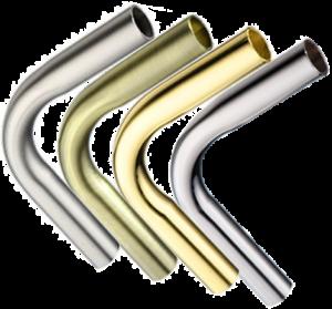 Угол 90 рейлинга (трубы) d=16мм.