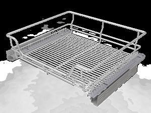 Корзина выкатная в нижнюю базу  с Плавным закрыванием